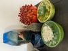 Afbeeldingen van Paddenstoelen vaas Oranje