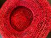 Afbeeldingen van Gehaakte sierschaal rood